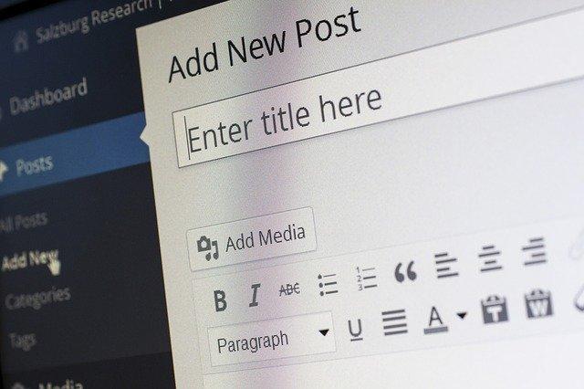 business wordpress website
